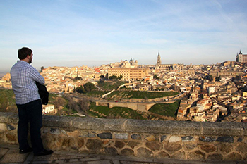 Student's Fascination with People Led Him to Spain