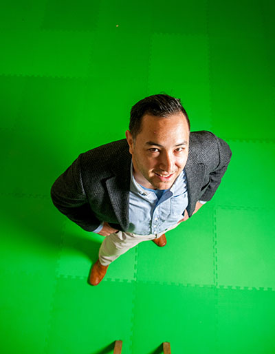 Faculty Profile: Jon Amakawa, Game Design Program, Communications Media