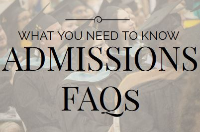 Top 10 Admissions FAQs For The Graduate Application Process